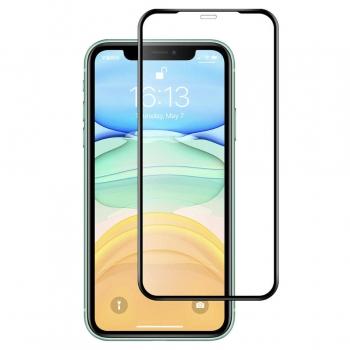 Displayschutz Glasfolie Fullcover iPhone 12 Pro Max+ Clear Case geschenkt!
