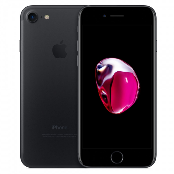 "iPhone 7, 128GB, black (ID: 61225), Zustand ""gut"", Akku 86%"